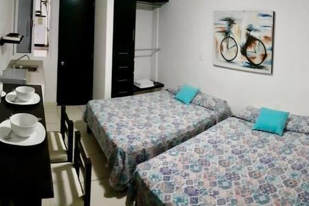 Amplia habitación/doble - Ediplaza Río Suites