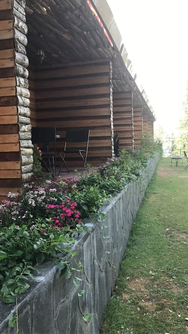 Private Terraces.