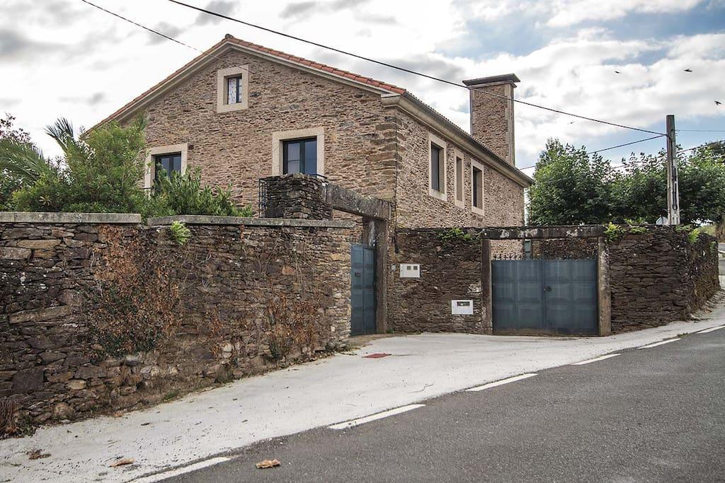 Casa bama casas de campo en alquiler en o pino galicia espa a - Casas de campo en galicia ...