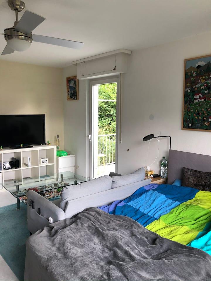 Privatzimmer in einer 65qm Wohnung mit Terrasse