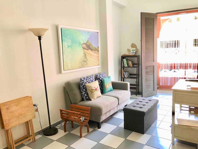 Cozy Apartment for 2 | BEST STREET IN OLD SAN JUAN
