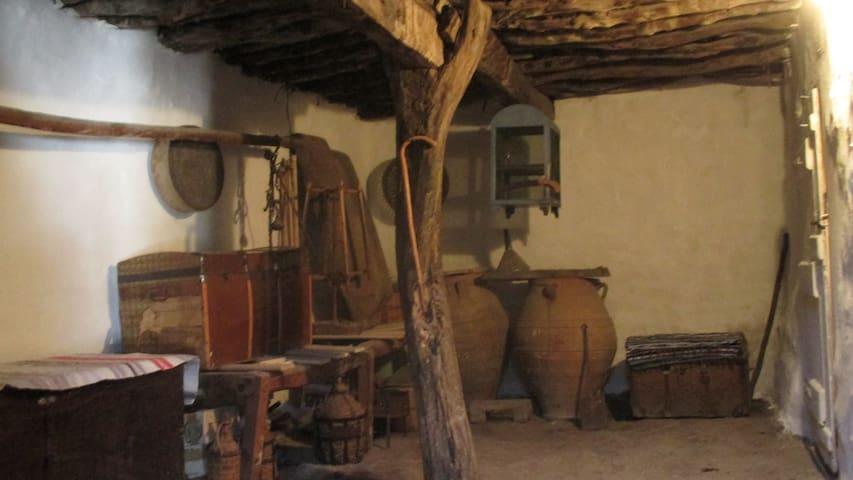 Tradiční krétský domek blízko moře