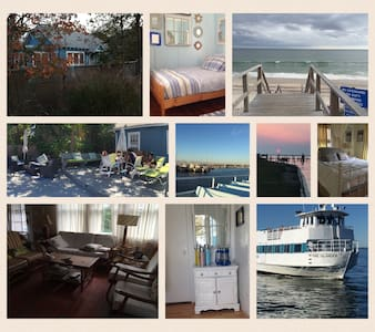 Fire Island Charming Beach Cottage - 4 BR 2 BA - Seaview - Bungaló