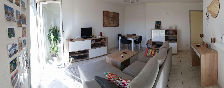 Charmant T2 au bord de la Douze - Mont-de-Marsan - Apartment