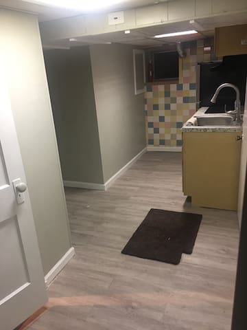 Basement studio for single or couple