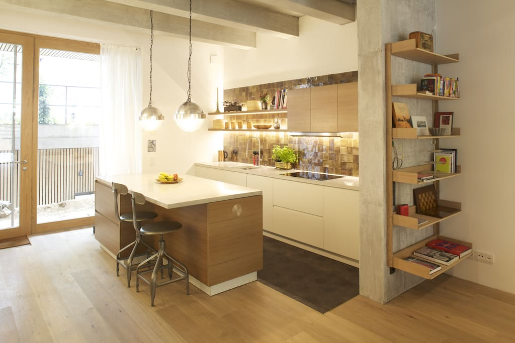 Open Kitchen fully equipped