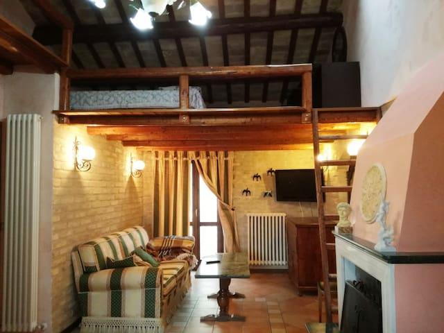Cozy appartment in the center of Acquaviva