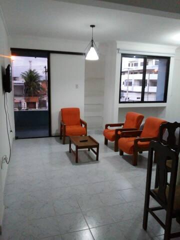 Departamento mono ambiente, cómodo y acogedor.