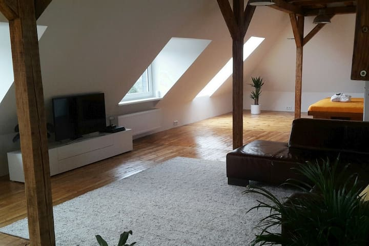 Modern loft in Oberbergischem Land close to lake
