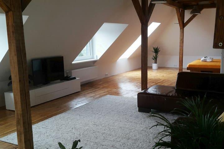 Moderne Loftwohnung im Oberbergischen Land