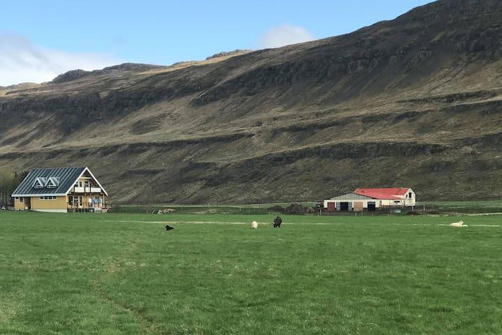 Farmhouse Accommodation - West Iceland.