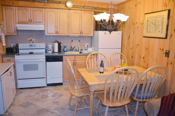 Fully equipped kitchen for preparing gourmet meals