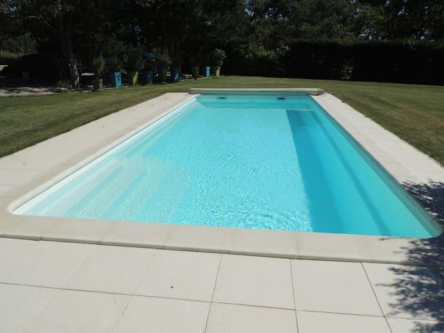 Maison avec piscine privée,totalement indépendante - Sarrians - Haus