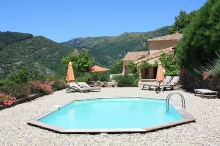 Luxe villa met privézwembad - Saint-Mélany - Villa