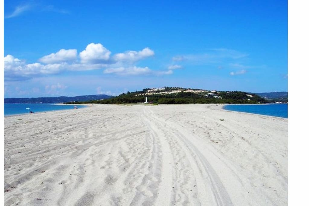 παραλία- μύτη Ποσειδίου