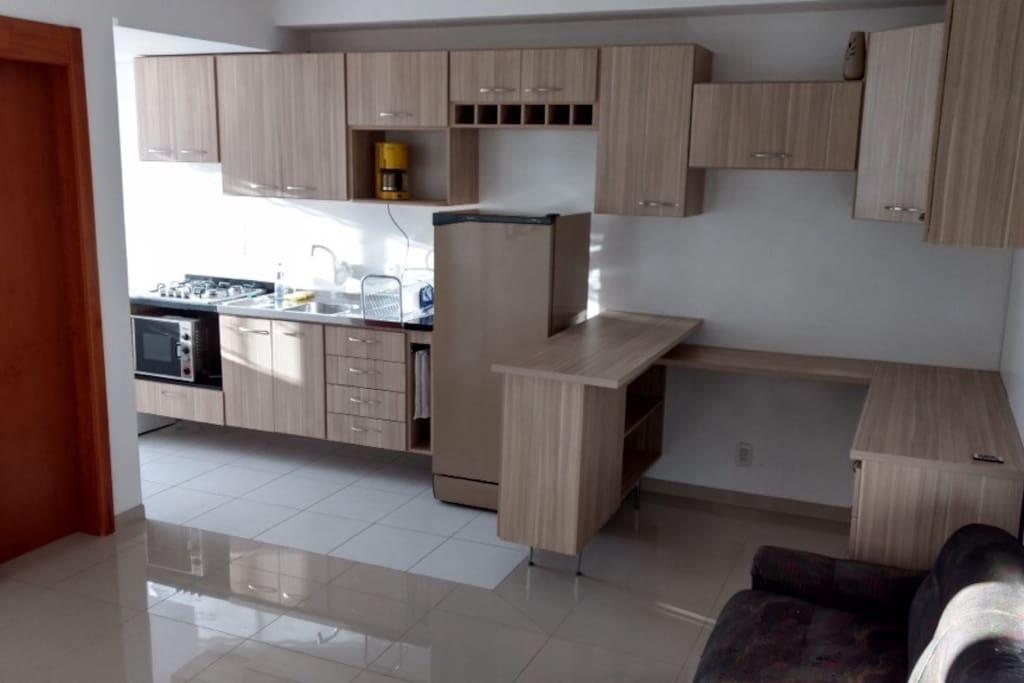 Cozinha e Home Office