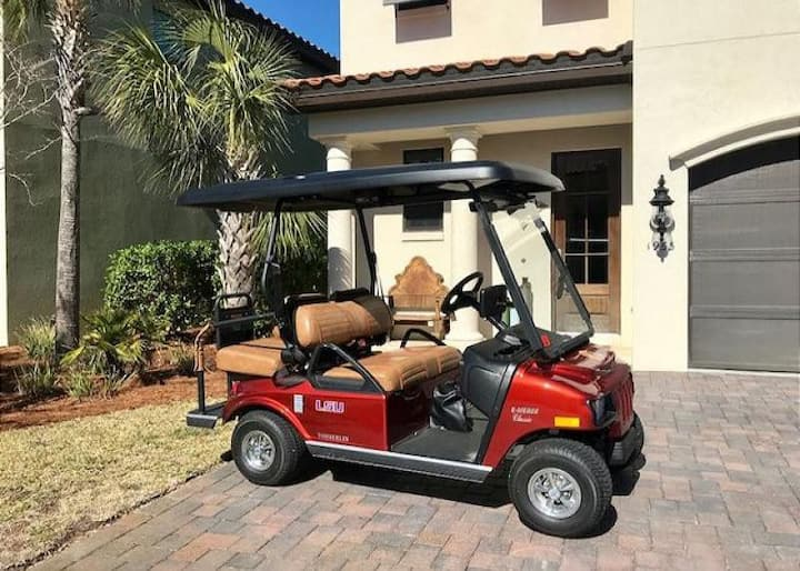 Gorgeous home in Sandestin with GOLF CART!