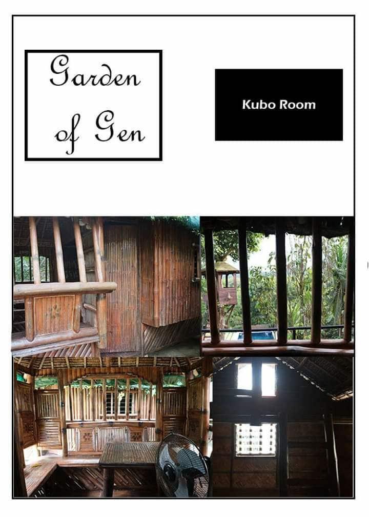 Garden of Gen resort. Good for 3 guest