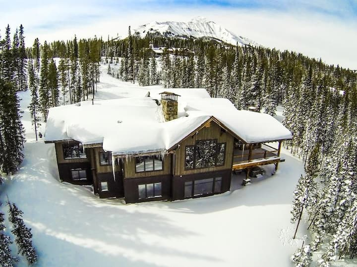 Perfect ski access, Best views anywhere, 2.5 ac of privacy - Moonlight Basin