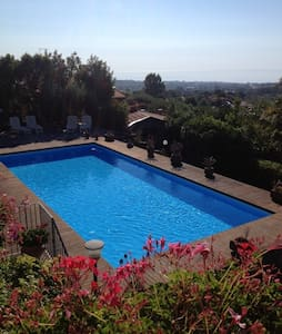 Mount Etna, beautiful view and pool - Viagrande - Villa