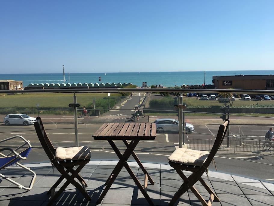 180˚ sea view from big balcony - No vis a vis