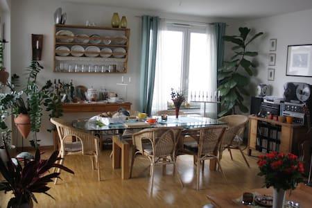 Helle, moderne Wohnung bei Freiburg - Emmendingen - Apartamento