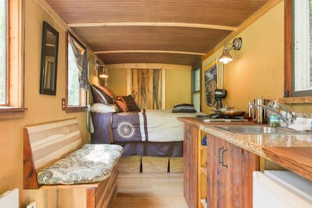 Classy & Finely-Finished Tiny House Box-Truck