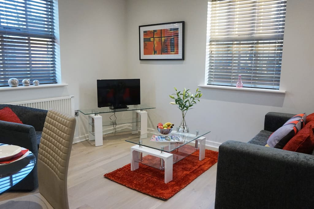 B   Daresbury Apartment Living Area Two