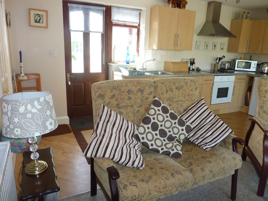 Comfortable and bright accommodation
