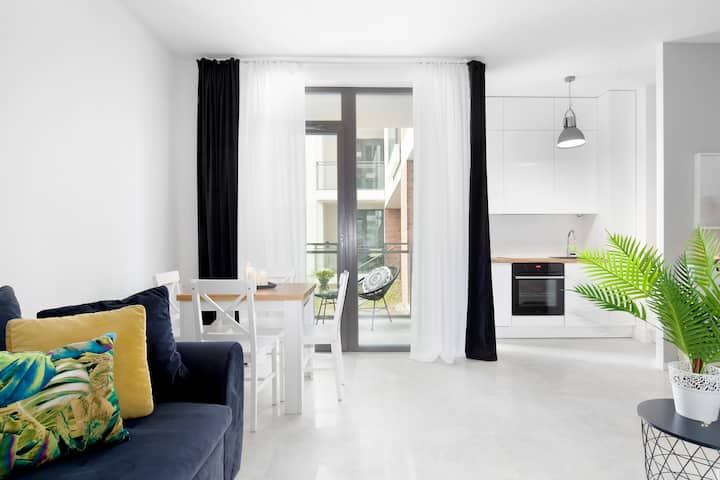Elite Apartments Stella | balcony & free parking | CENTER