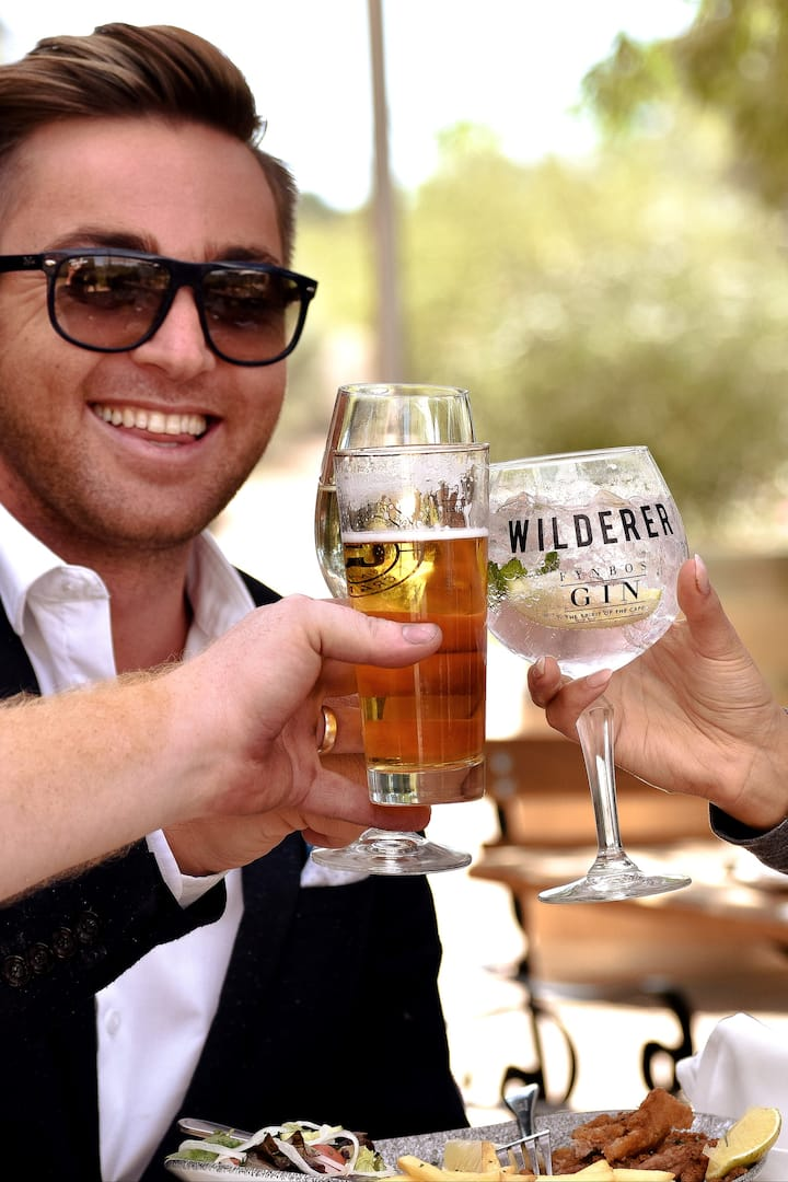 Beer or gin? Have both!