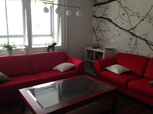 Apartment  20 min from the c. centre (bus, bybane) - Bergen - Huoneisto