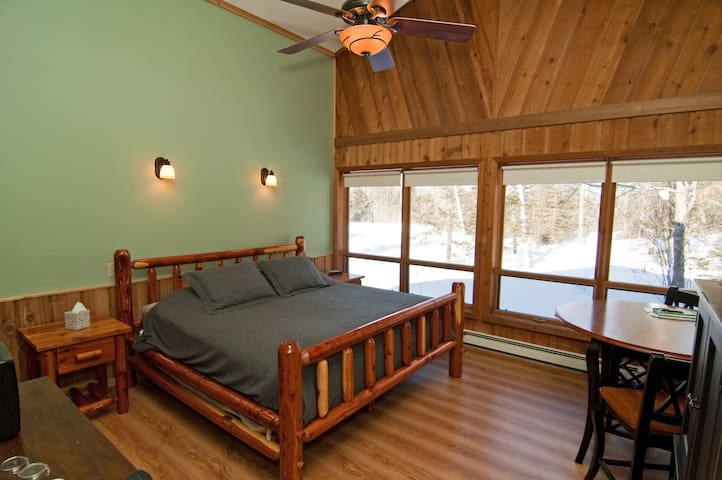 Aurora Borealis - a Deluxe King room with relaxing air jet tub you may request for the basic rate +$40