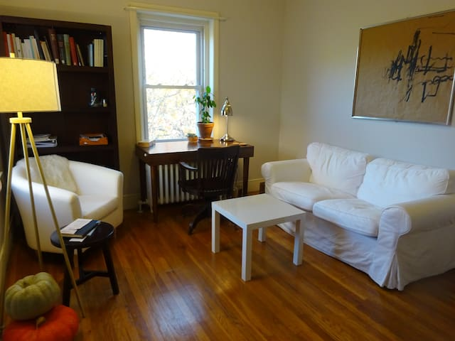 Bright Apartment near Yale University - New Haven - Lägenhet