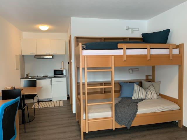 Imst, zentrale und sonnige Ein-Zimmer-Wohnung
