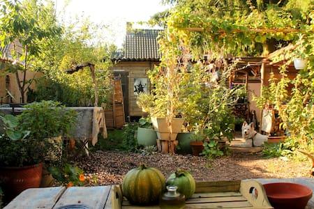 Ecologisch tuinhuisje Back to Basic - Laren