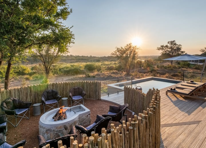 Privatley guided, luxury villa stays in Kruger