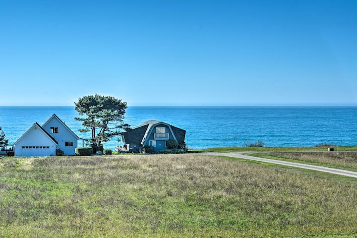 NEW! Accessible Home - 1/4 Mi to N. Pacific Ocean!