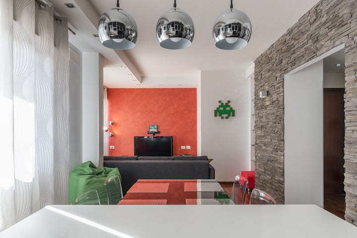 Stylish Flat x4 PIGNETO & MM Malatesta
