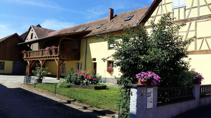 House with 2 bedrooms in Stotzheim, with enclosed garden and WiFi