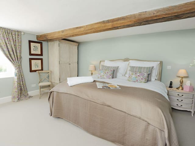 Bedroom Two with Super King Bed and ensuite bathroom