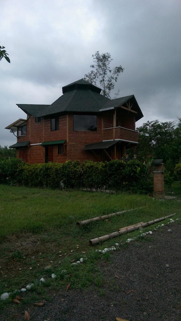 Ville ecologique. Equateur