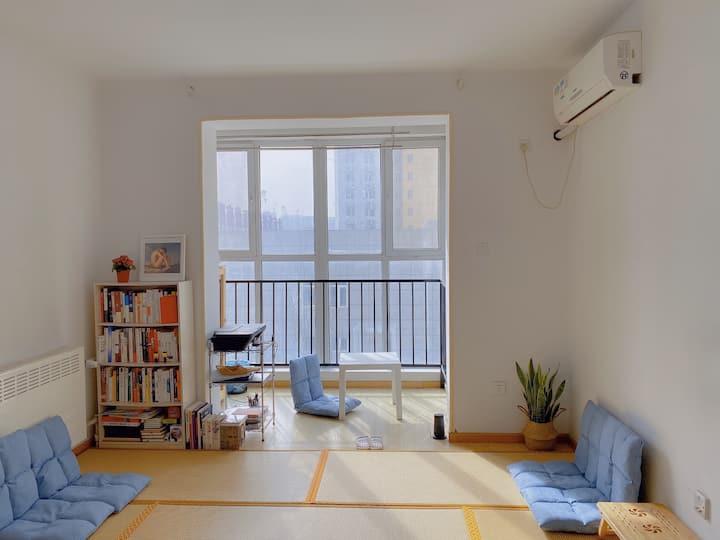 【私梦假期实验室】休憩小窝·日式榻榻米/近6号线北运河西