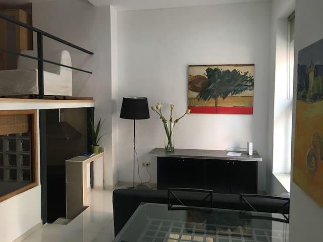 Loft gigante en Madrid Río, 2 dormit dobles