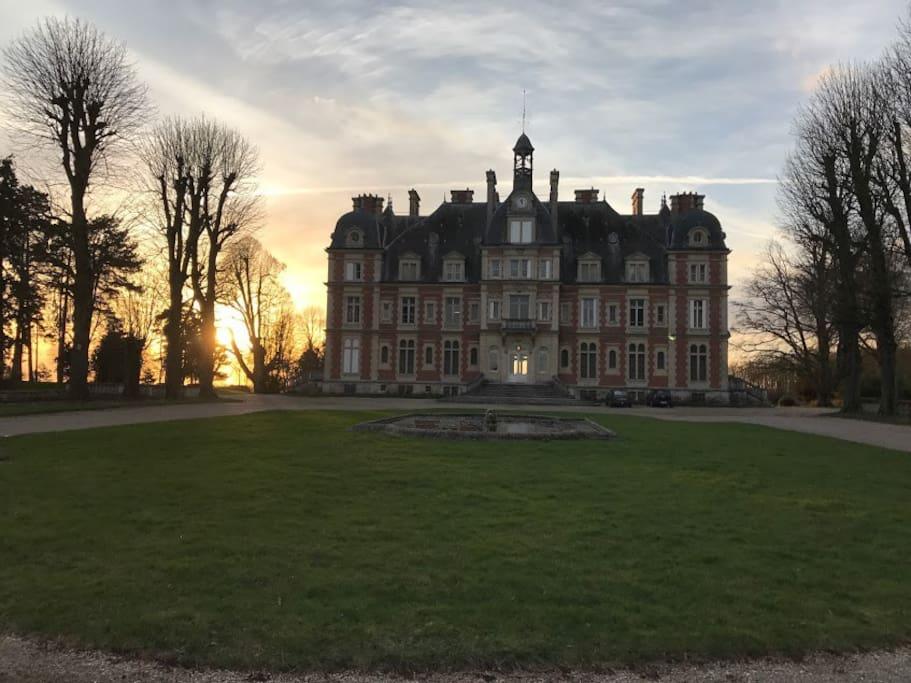 This is the main castle on the Chateau de la Trousse grounds.