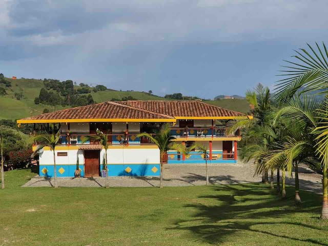 Hermosa finca en el municipio de Jericó-Antioquia