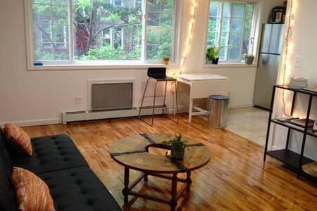 New Bright Brooklyn 2BR, mins to Manhattan - Brooklyn - Apartment
