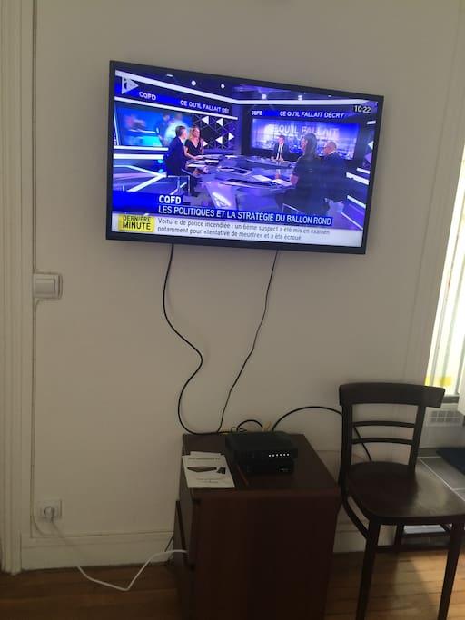 Television et wifi fibre optique