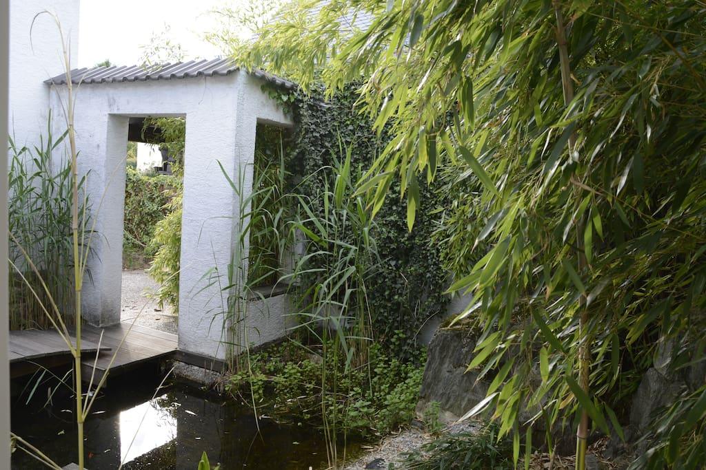 Der Eingangsbereich vom der Wohnung aus gesehen