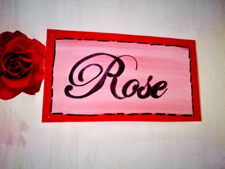 Rose: accogliente camera in b&b con bagno privato